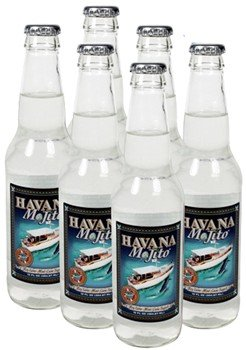Mojito Mix by Havana Cola Glass Bottle 12 Oz. Pack of 6 - Havana Cane