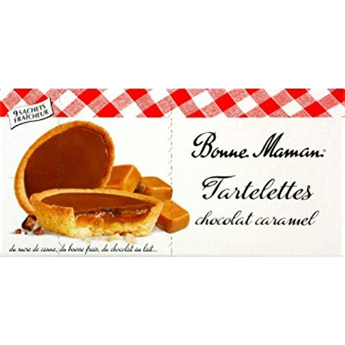 Bonne Maman - Tartas de chocolate con leche y caramelo - 135G - Lote de 3 - Precio por unidad - entrega rápida: Amazon.es: Alimentación y bebidas