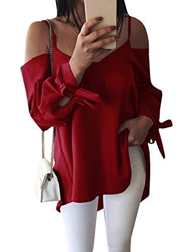 Ybenlover Femme Chemisier Ybenlover Rouge Femme Rouge Chemisier r8xqH6r