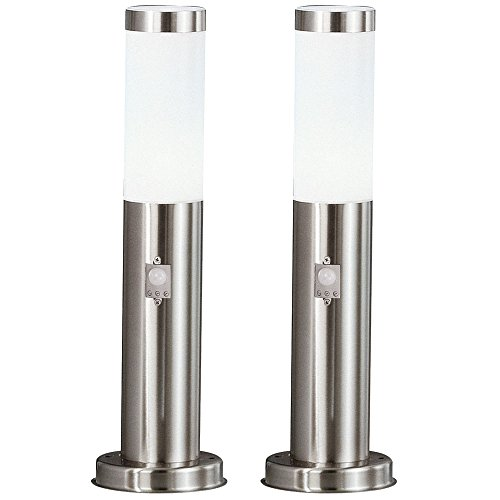 2x Led Lampes De Plancher Exterieur Lampes De Jardin