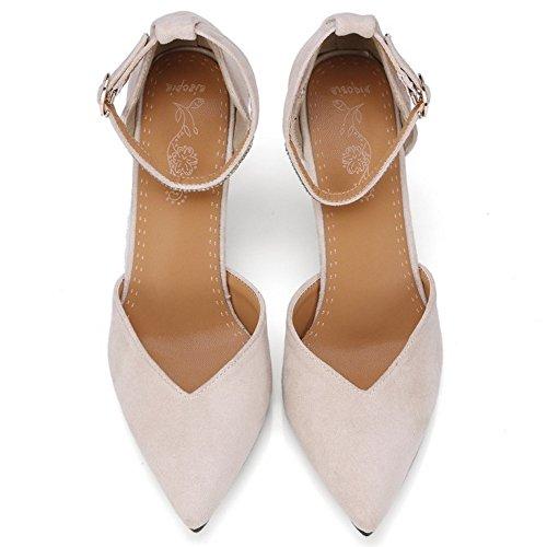 Sandales Beige Femmes Chaussures AicciAizzi D'Orsay A4EqT