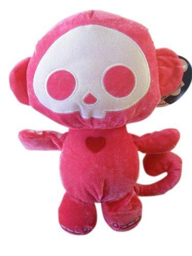 Skelanimals Marcy Monkey - Skelanimals Plush - MARCY the Pink Monkey (13 inch) by Skelanimals