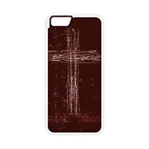 iPhone 6 4.7 Inch Cell Phone Case White Scratch Cross Wcqhc