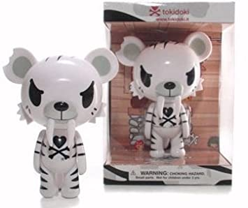 official photos bf9dc c396b TokiDoki: White Tiger Vinyl Figure: Amazon.co.uk: Toys & Games