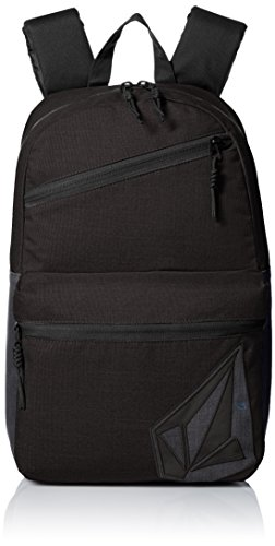 Embroidered Volcom Backpack - Volcom Unisex Academy Backpack, Black, One Size