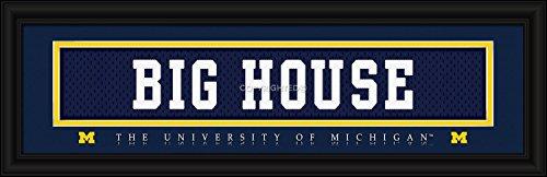Michigan Wolverines Stitched Uniform Slogan Print - BIG - Michigan Outlets