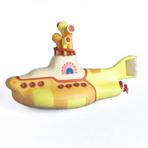 Beatles Yellow Submarine Blow Mold Christmas Ornament