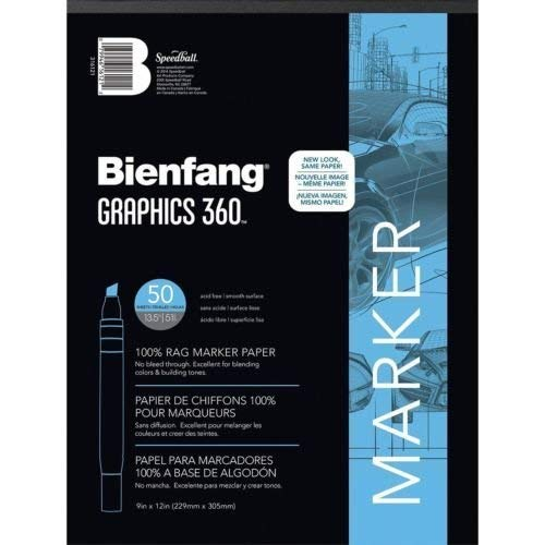 50sht Paper - Bienfang Graphics 360 50 sheets 316120