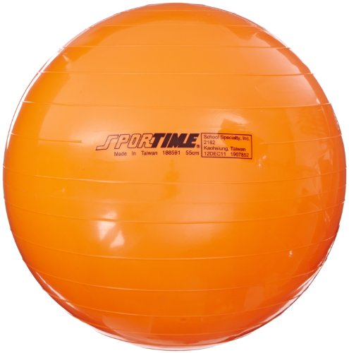 Sportime Therapy Exercise Ball Orange