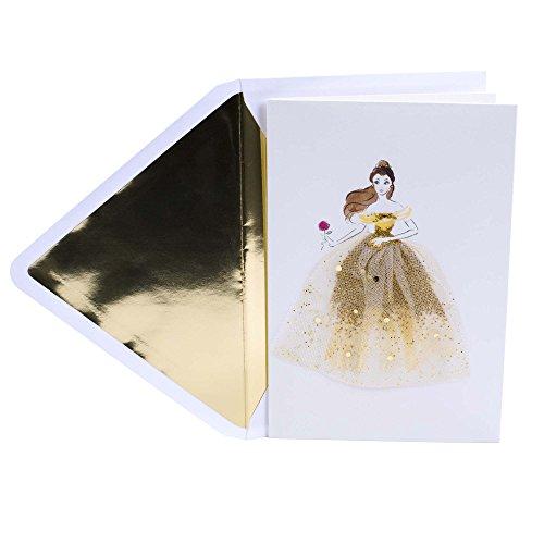 Hallmark Signature Birthday Card (Disney Belle)