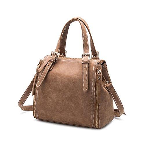 23Cm Bag Messenger 12Cm Summer Women's Tote Bag 25Cm Bag Shoulder Brown Scrub HSFxfvwxq