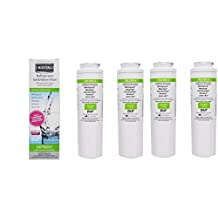 4 Count UKF8001 Maytag Whirlpool Refrigerator Water Filter, EDR4RXD1