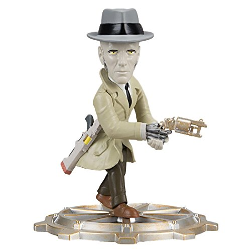 Exclusive Fallout 4 Nick Valentine Figure with Base