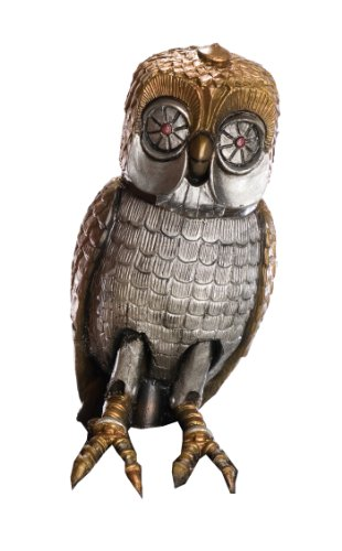 Kids Medusa Costumes - Clash Of The Titans Movie Costume Accessory, Bubo Owl, 9-Inches Tall