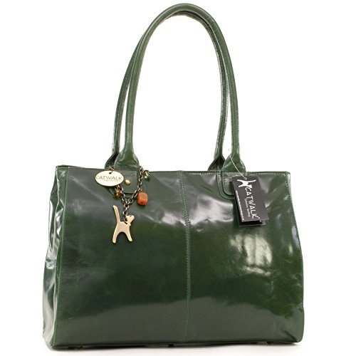signé sac à Vert Collection Catwalk Grand main Kensington x7ngdwI4F