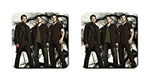 Beyellow Custom 2 pcs Supernatural Drink Cup Coasters Personalized Print Coasters