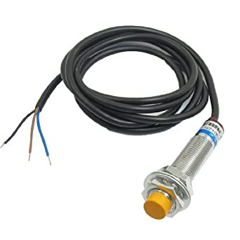 Enfoque DE 4 mm Sensor de proximidad inductivos Digital NPN No CC DE 3 Cables 6-36V 300mA: Amazon.com: Industrial & Scientific