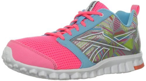 0 Chaussure Course shocking De 2 Reebok watery Zing Cri so Pink Realflex tin Sherbet Blue Grey xYwIt