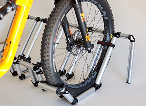 2. Pipeline Racks Truck Bed Bike Rack - Holds 4 Bikes