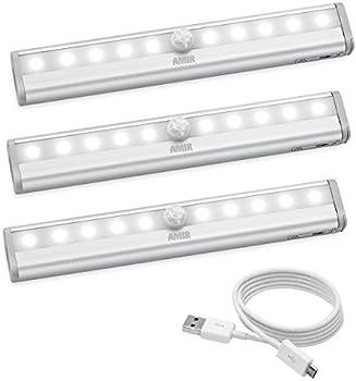 3-Pk Amir Wireless Motion Sensing Closet Lights
