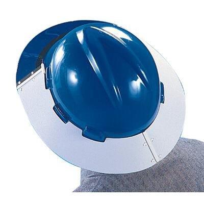 MSA 10039114 Polyurethane Sun Shield for V-Gard Advance 500 Caps Only, Clear