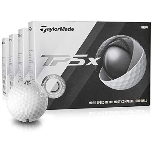 Taylor Made TP5x Golf Balls – Buy 3 DZ Get 1 DZ Free