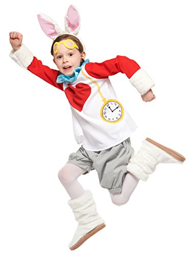 (Disney Alice in Wonderland Costume - White Rabbit Costume - Child S)