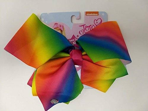 JoJo Siwa Large Cheer Hair Bow (Rainbow) by I WEAR JOJO