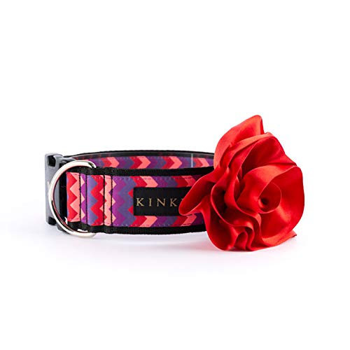 Kinky Dog and Cat Flower Collar -