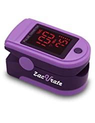 Zacurate Pro Series 500DL Fingertip Pulse Oximeter Blood Oxyg...