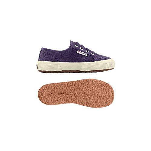 Superga 2750- SUEBINJ S004Z10 - Zapatillas de ante para niños Prune