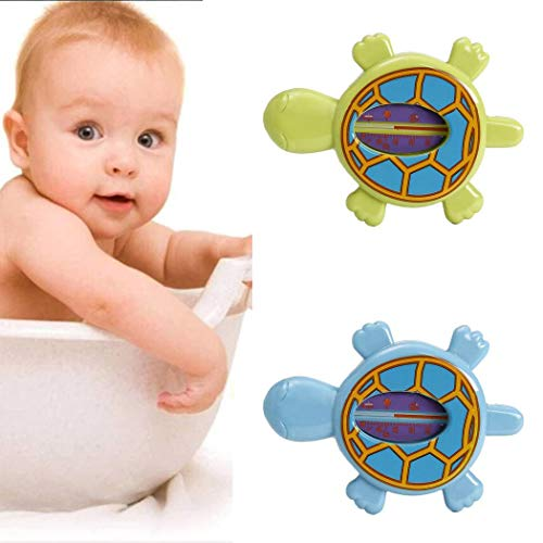 ICCUN Lovely Tortoise Shape Turtle Toy Bath Thermometer for Baby Room Temperature by ICCUN