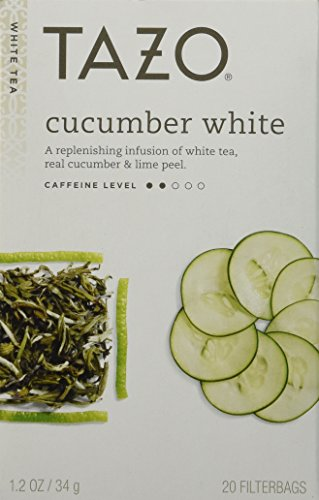 Tazo White Tea (Tazo Cucumber White 20 Bags)