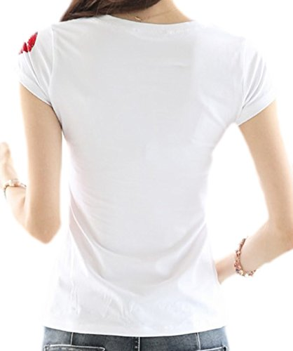 erdbeerloft - Camiseta - Opaco - para mujer