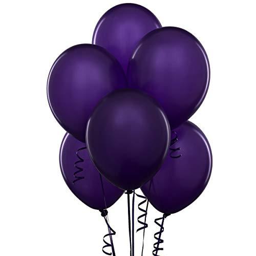 12 Inch Latex Balloons (Premium Helium Quality), Pack of 24, Deep Purple