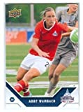 Abby Wambach trading card (Washington Freedom USA Womens Soccer) 2011 Upper Deck #196