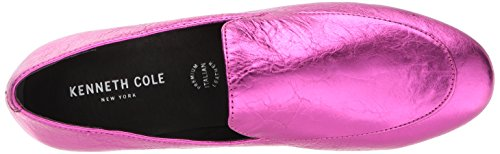Kenneth Cole New York Women's Westley Slip Loafer Flat, Medium Magenta