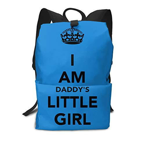 Large Capacity Daddys Little Girl Pink Backpack For Trade Fairs