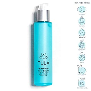 TULA Probiotic Skin Care Illuminating Face Serum | Brightening Serum, Target the Appearance of Dark Spots and Hyperpigmentation | 1.6 oz.