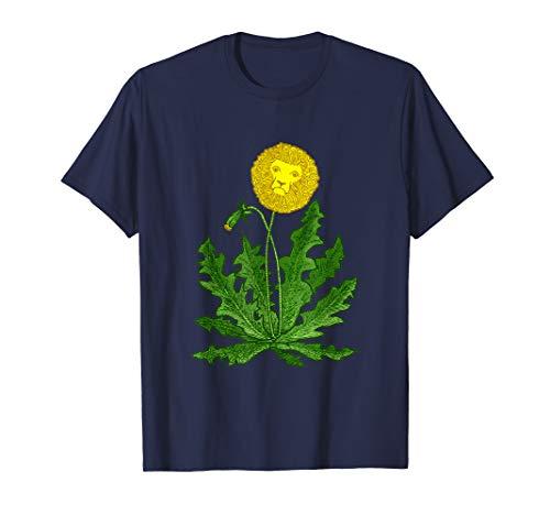 DANDY LION Shirt Dandelion FUNNY SURREAL GARDEN WEED SO -