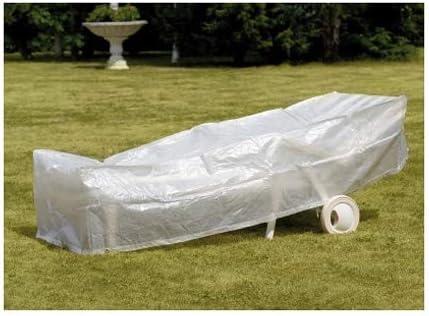 TrendLine Schutzhülle Basic Sonnenliege 200x75x45 cm Abdeckung Gartenmöbel Liege