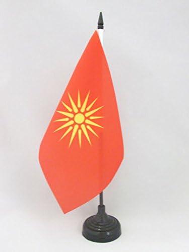 AZ FLAG TISCHFLAGGE Macau 21x14cm flaggen CHINESISCHE TISCHFAHNE 14 x 21 cm