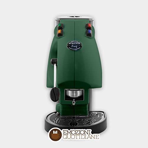Cafetera eléctrica a gofres en papel ese 44 mm diesse Frog Color Verde: Amazon.es: Hogar