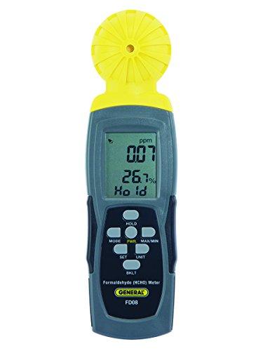 - General Tools FD08 Digital Formaldehyde Meter