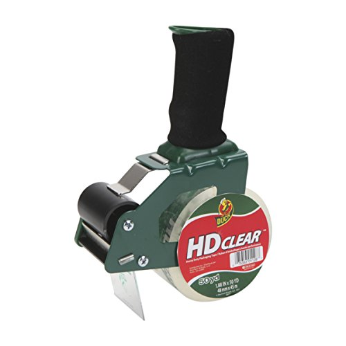 Duck Brand Foam Handle Tape Dispenser with HD Clear Packagin