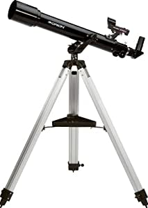 Orion 09881 Observer 70mm Altazimuth Refractor Telescope (Black)