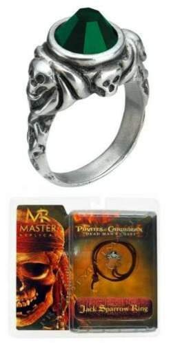 [Pirates of the Caribbean: Jack Sparrow Ring Replica] (Daredevil Costumes Replica)