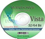 BOOT RESTORE & RECOVERY for WINDOWS VISTA 32bit / 64 bit