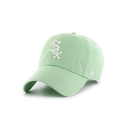 cbbaab12 Chicago White Sox Dad Hat 47 Brand Pastel Clean Up Slouch Fit Strapback  (Hemlock Green) - Buy Online in Oman. | Apparel Products in Oman - See  Prices, ...