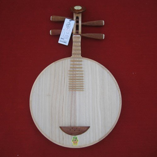 Yueqin - Dunhuang Chinese Moon Lute Guitar Banjo Musical Instrument by Dunhuang